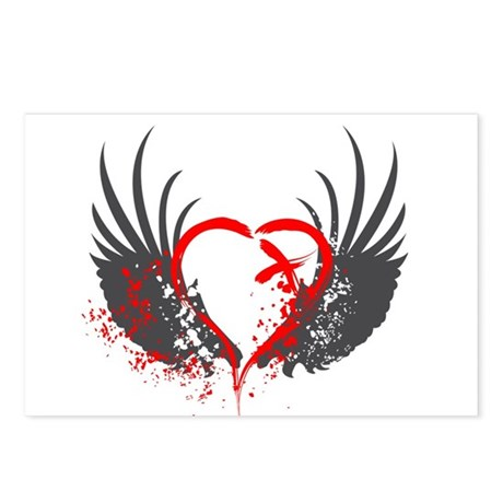 Blood Wings Postcards (Package of 8)