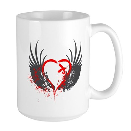 Blood Wings Large Mug