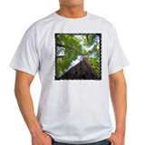 Up a Tree Ash Grey T-Shirt