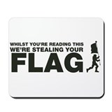 Capture The Flag Mousepad