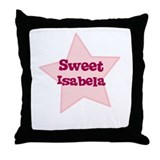Sweet Isabela Throw Pillow