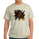 Chocolate Lab Clown Halloween Light T-Shirt