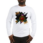 Chocolate Lab Clown Halloween Long Sleeve T-Shirt