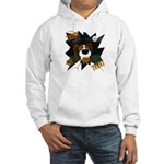 Papillon Devil Halloween Hooded Sweatshirt