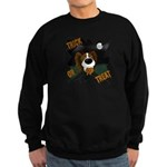 Papillon Devil Halloween Sweatshirt (dark)