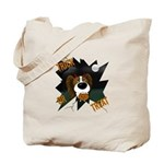 Papillon Devil Halloween Tote Bag