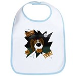 Papillon Devil Halloween Bib