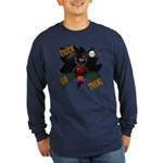 Scottie Clown Halloween Long Sleeve Dark T-Shirt