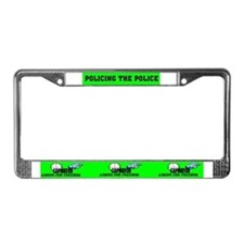COP WATCH License Plate Frame