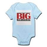 Funny Weightlifting Infant Bodysuit