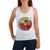 Funny Bomber nose art Women's Tank Top