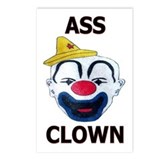 Ass Clown Postcards (Package of 8)