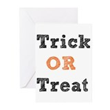 Trick Or Treat Greeting Cards (Pk of 10)