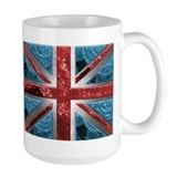 Liquid Money Union Jack Ceramic Mugs
