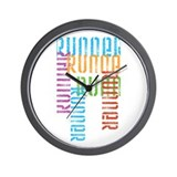 Run Off Variety Wall Clock