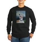 Smile Long Sleeve Dark T-Shirt