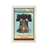 Travel Pennsylvania Rectangle Magnet