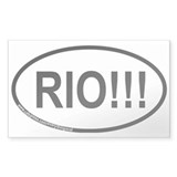 RIO!!! Rectangle Sticker 10 pk)