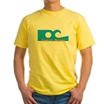 Ocean City Flag Yellow T-Shirt