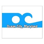 Ocean City Flag Small Poster