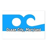 Ocean City Flag Postcards (Package of 8)