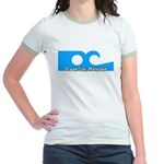 Ocean City Flag Jr. Ringer T-Shirt