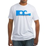 Ocean City Flag Fitted T-Shirt