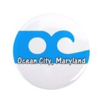 "Ocean City Flag 3.5"" Button (100 pack)"