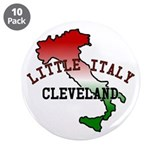 "Little Italy Cleveland 3.5"" Button (10 pack)"