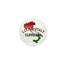 Little Italy Cleveland Mini Button (100 pack)