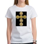 LOVE Golden Crucifix Women's T-Shirt
