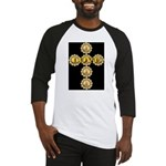 LOVE Golden Crucifix Baseball Jersey
