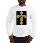 LOVE Golden Crucifix Long Sleeve T-Shirt
