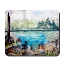 """Backwaters Serenity"" Mousepad"