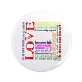 "Cute Christianity 3.5"" Button"