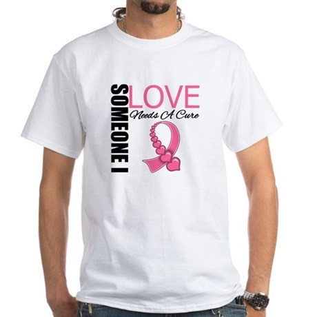 Breast Cancer Needs A Cure White T-Shirt