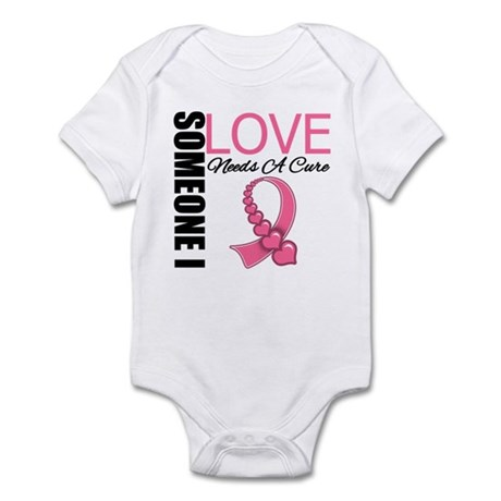 Breast Cancer Needs A Cure Infant Bodysuit
