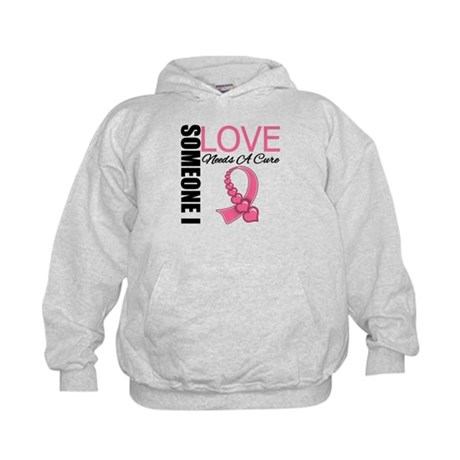 Breast Cancer Needs A Cure Kids Hoodie