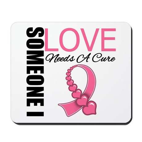 Breast Cancer Needs A Cure Mousepad