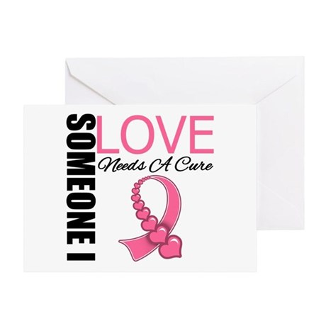 Breast Cancer Needs A Cure Greeting Card