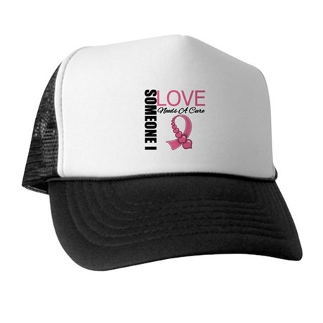 Breast Cancer Needs A Cure Trucker Hat