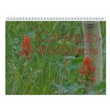 Colorado Wildflowers Vol 1 Wall Calendar
