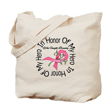 Breast Cancer In Memory Tote Bag