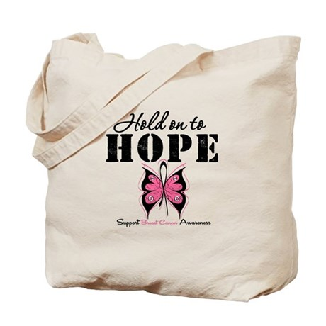 BreastCancer Hold on to Hope Tote Bag