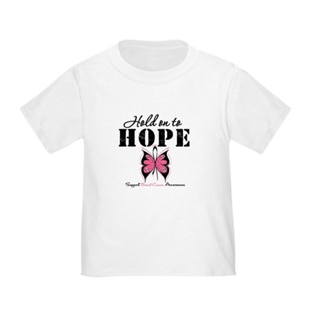 BreastCancer Hold on to Hope Toddler T-Shir