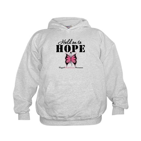 BreastCancer Hold on to Hope Kids Hoodie