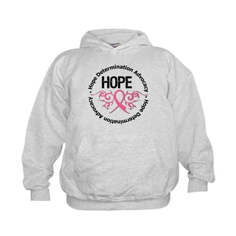 BreastCancer HopeTribal Kids Hoodie