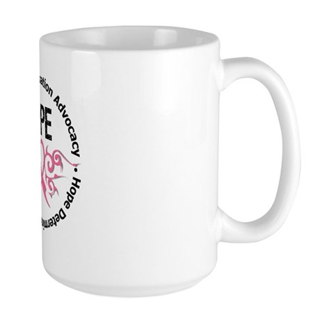 BreastCancer HopeTribal Large Mug