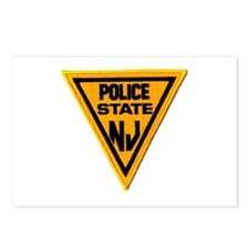 Unique State police Postcards (Package of 8)
