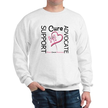 Breast Cancer Ribbon Art Sweatshirt